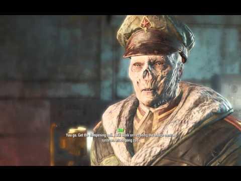Fallout 4 Sea of Monsters YANGTZE submarine