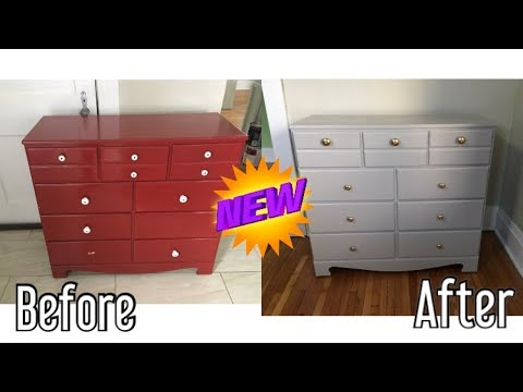 ✅ DIY FURNITURE MAKEOVER | DRESSER MAKEOVER | HOW TO PAINT FURNITURE