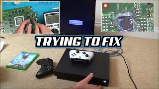 Trying to FIX: Faulty Xbox One X No Display