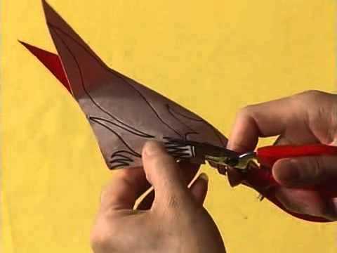 Chinese Paper Cutting Hq 04 Triangular Corner Pattern