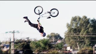 Kurtis Downs: World\'s First BMX Dead Body Backflip