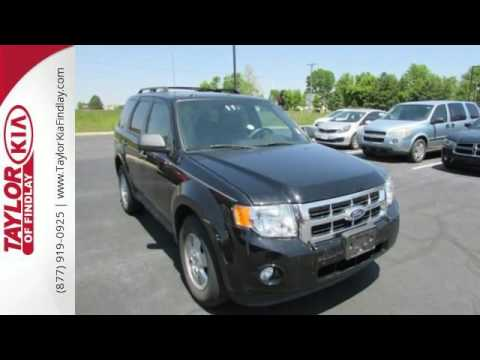 Used 2010 Ford Escape Findlay OH Fort Wayne, OH #F60524A. Taylor Kia Findlay