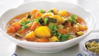 Slow Cooker Winter Vegetable Soup - Recipe