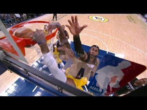 Paul george crazy dunk on lebron hd youtube paul george crazy dunk on lebron hd voltagebd Image collections