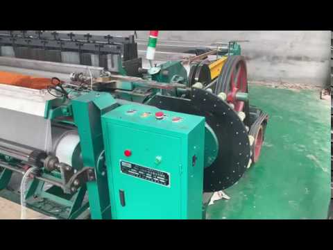 automatic stainless steel wire mesh weaving machine working video
