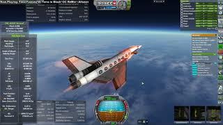 Kerbal Space Program RO Sandbox - Hypersonic Liner Development 05