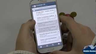 Samsung Galaxy S IV - почта