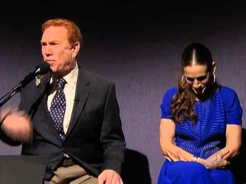 Sarah Jessica Parker is Super Embarrassed on David Letterman