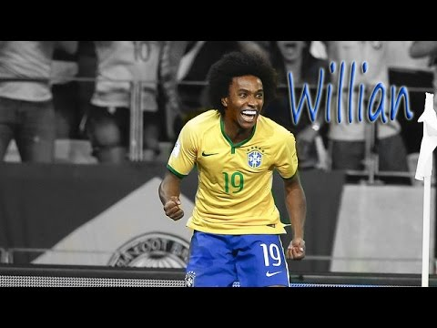 Willian ● Ultimate Skills Show ● Brazil ● 2015 - 2016