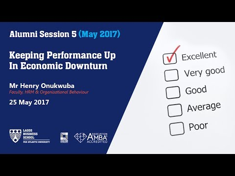 Keeping Performance Up In Economic Downturn