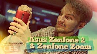 [CES15] Первый обзор Asus Zenfone 2 и Zenfone Zoom