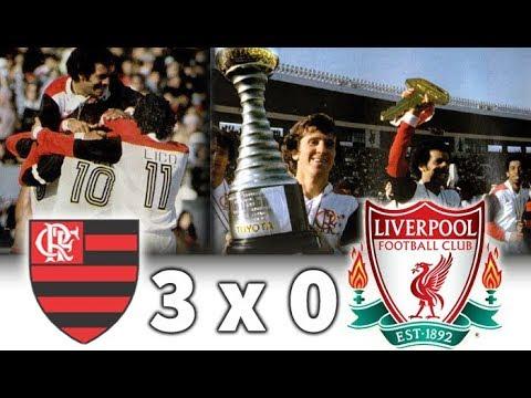 Flamengo 3 X 0 Liverpool Flamengo Campeão Mundial Interclubes 1981 Melhores Momentos E Gols