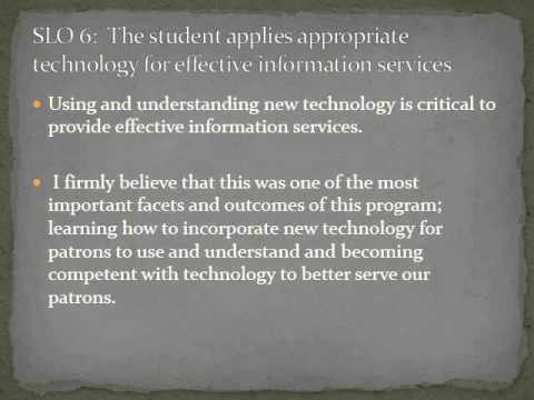 Master of Library and Information Studies Powerpoint