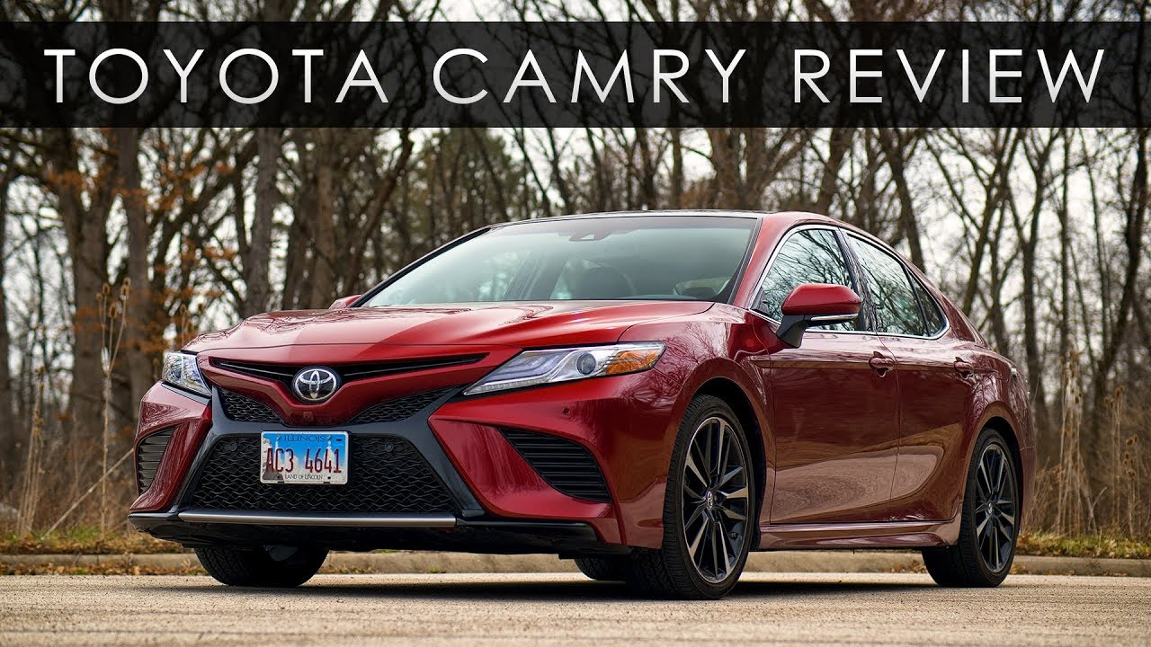 Review 2018 Toyota Camry Dont Quit The V6