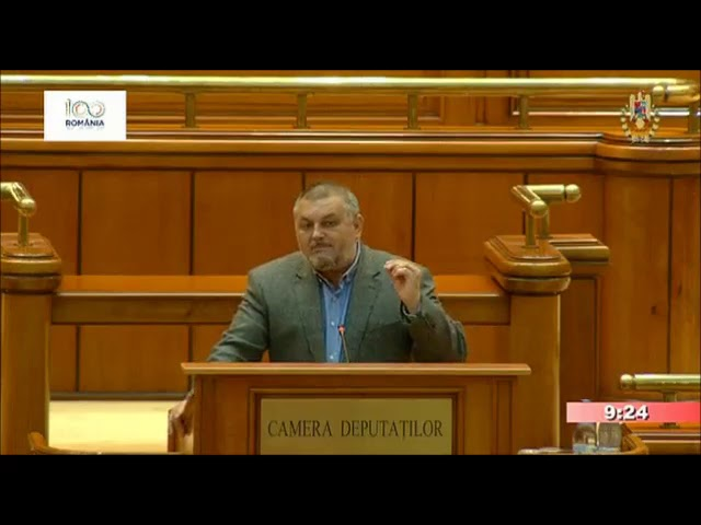 16.05.2018 - Declara?ie politic? - Corneliu Bichine?, deputat PMP.
