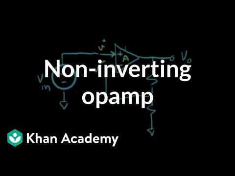 Non-inverting op-amp circuit