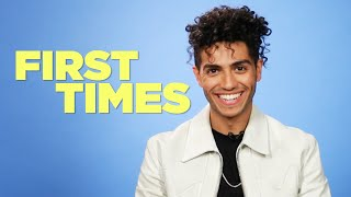 """Aladdin"" Star Mena Massoud Tells Us About His First Times Video"