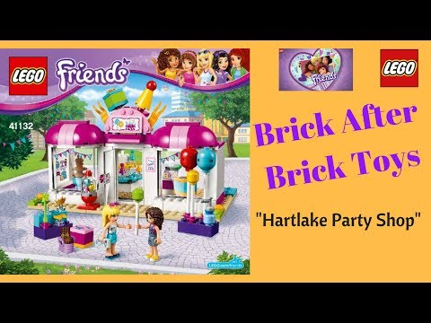 Lego Friends Heartlake Party Shop Build Fun Play Review