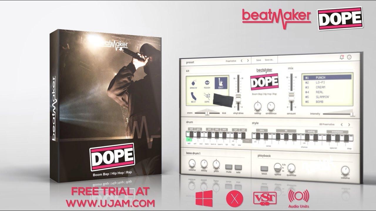 UJAM Instruments   Beatmaker   EDEN, HUSTLE, DOPE   Plug-Ins