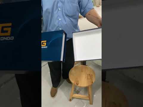 กล่องจั่วปัง กล่องกระดาษแข็ง รูปทรงลิ้นชัก สำหรับงาน #กล่องต้นแบบ