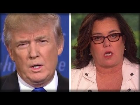 ROSIE O'DONNELL FACING BACKLASH FOR SUGGESTING TRUMP'S YOUNGEST SON HAS AUTISM