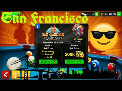 8 Ball Pool - San Francisco Tournament Amazing Gameplay + San Francisco Cue