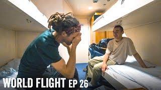 OVERNIGHT BOAT TRIP! - World Flight Episode 26