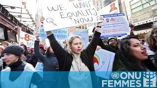 Journée internationale des femmes 2018 : L'heure est venue
