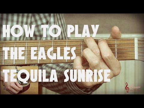 4:38) – (6.36 MB) : Tequila Sunrise Eagles Strum Guitar Cover Lesson ...