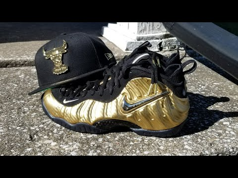 17093e20fe028 Gold Foamposite Pro now these are nice 💯💯💯💯🔥🔥🔥🔥