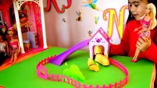 Barbie - Puppy Play Park - Sound Activated! - Kidz Toyz Nz