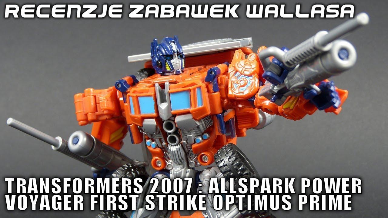 Voyager First Strike Optimus Prime - polska recenzja zabawki - Transformers Movie 2007
