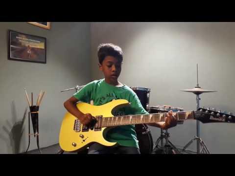 Katamarayudu Title Song Theme by chotu guitar cover
