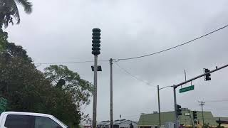 Hilo Tsunami Siren (Warning: VERY LOUD)
