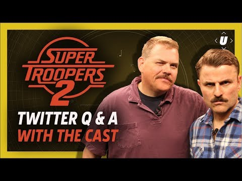 Super Troopers 2 Q&A With Mac and Farva