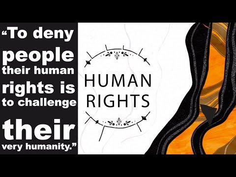 human Rights (حقوق الإنسان) spread the word