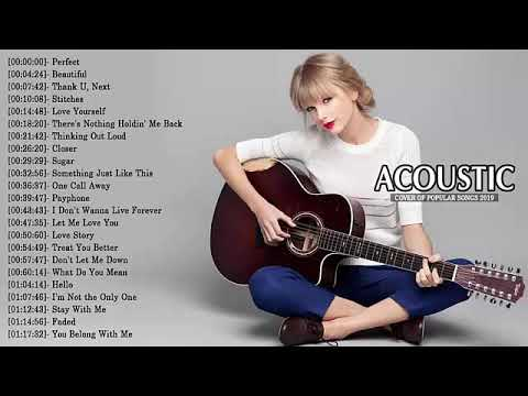 Top 40 Acoustic Guitar Covers Of Popular Songs - Best