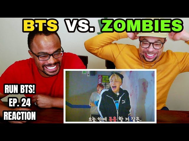 RUN BTS EP. 24 REACTION | BTS VS. ZOMBIES‼😱(FULL EPISODE)