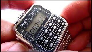 Casio C 701 Calculator  Watch 1980s