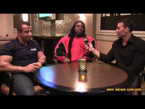 Frank Sepe interviews Kai Greene & George Farrah Interview 2015-