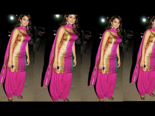 Fully fitting Punjabi suit design for girls | punjabi suits designs for slim girls | Kaur Trends