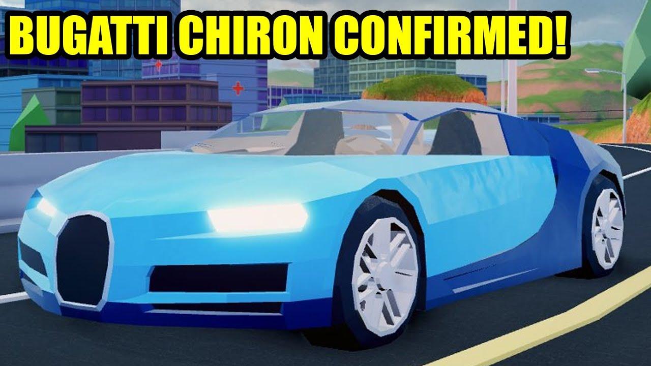 New Bugatti Chiron Coming To Roblox Jailbreak This Week Youtube