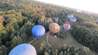 Путешествие на воздушном шаре Traveling in a balloon