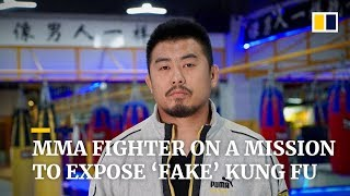 MMA fighter on a mission to expose