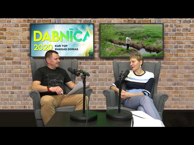 DABNĪCA 2020: Mazo upju stāvokli Latvijā un faktoriem, kas to ietekmē