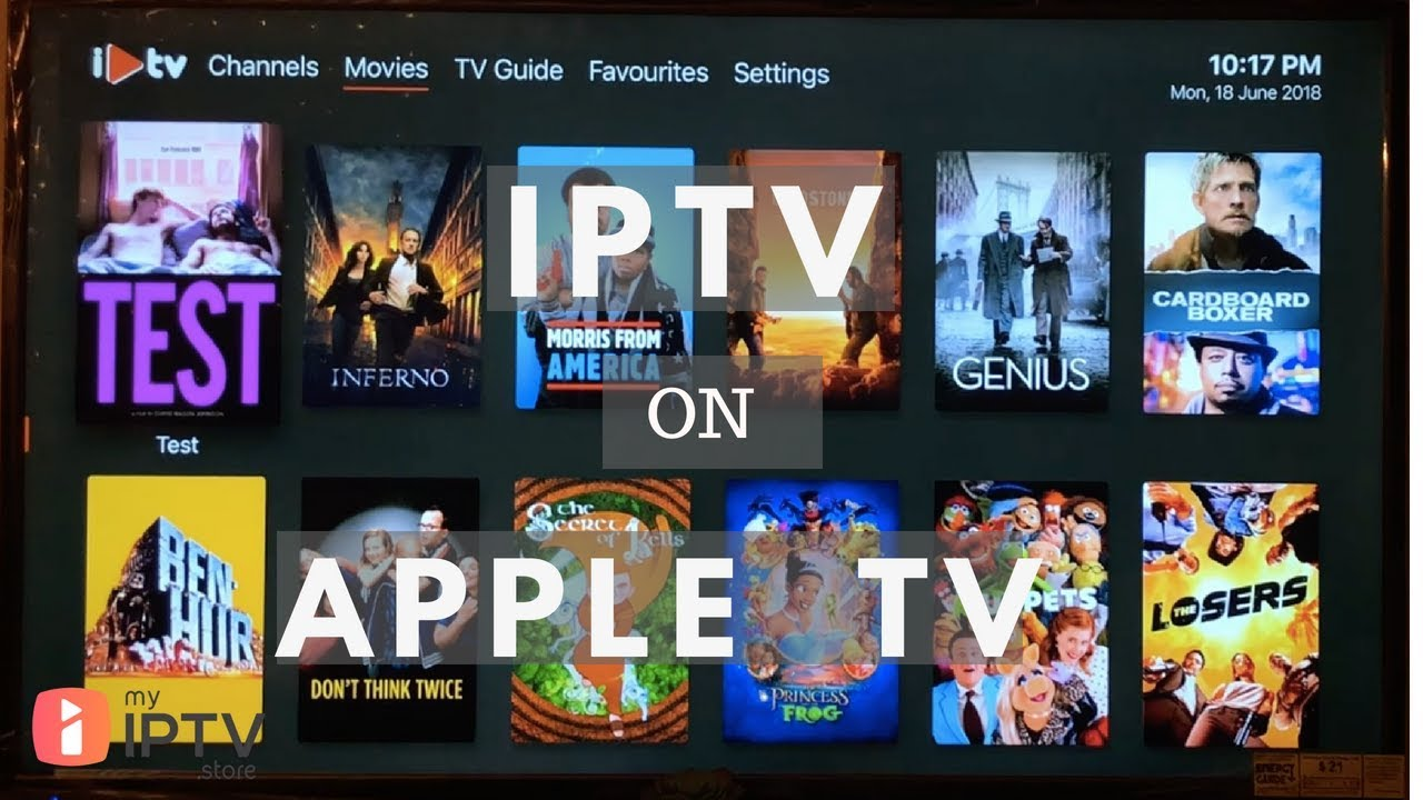 IPTV on Apple TV  Review and Setup