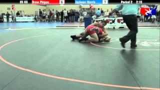 Drew Phipps vs. Jackson Harris at 2013 FILA Cadet Nationals - FS