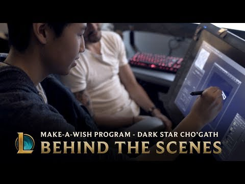 Making Dark Star Cho'Gath - Behind the Scenes | League of Legends