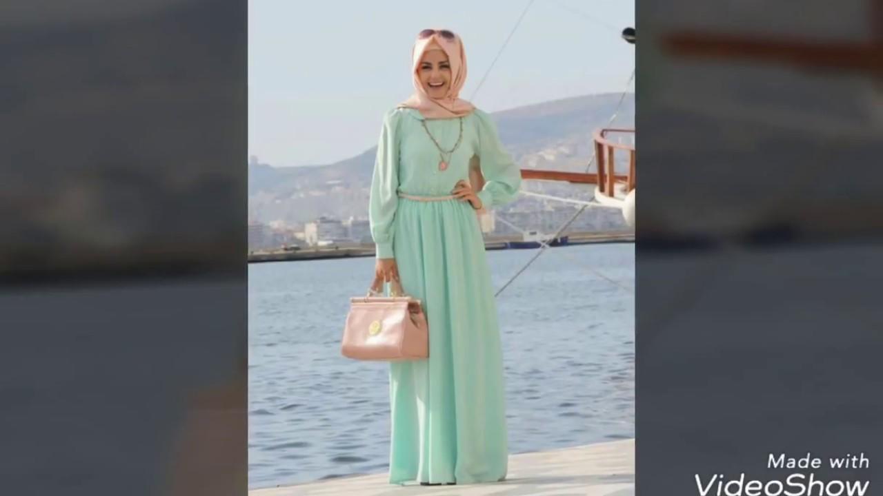 5be0a97dd موضة الوان و ازياء المحجبات 2018 ملابس محجبات صيف 2018 hijab fashion style