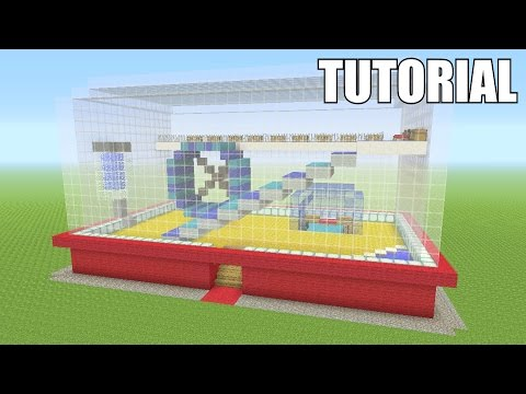 Minecraft Tutorial: How To Make A HAMSTER CAGE!! (Survival House)